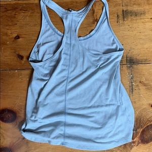 Under Armour Other - Under Armour Razorback Grey and White Striped Tank
